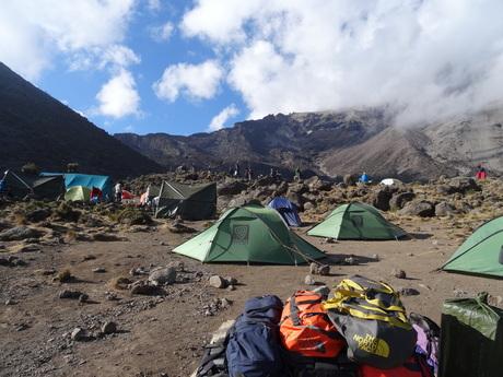 Shira Camp 2 (3840m).