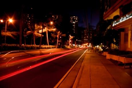 Avond op Hawaii