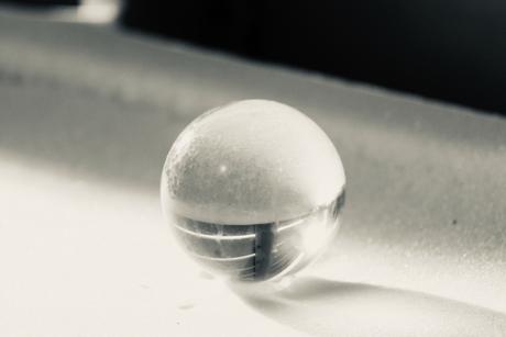 Bevroren glas...