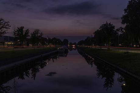 Het blauwe uurtje in Nieuw-Amsterdam