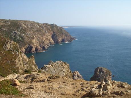 Kustlijn bij Cabo de Roca (Portugal)