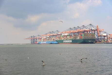 evergreen containerschip