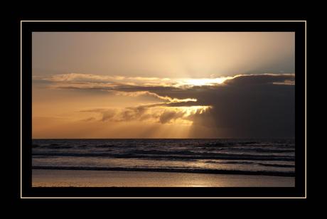 Zonsondergang IJmuiden