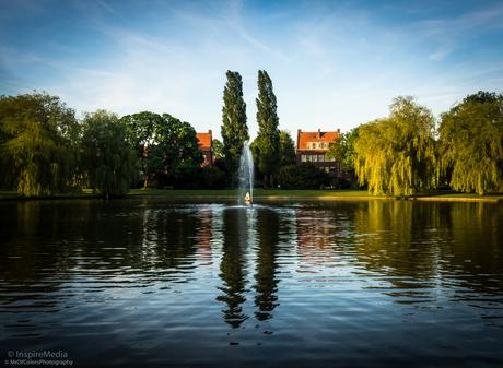Early Evening In The Oosterpark Neighborhood Groningen for InspireMedia