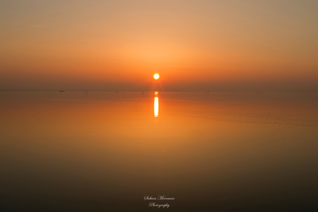 Geweldige zonsondergang gisteravond