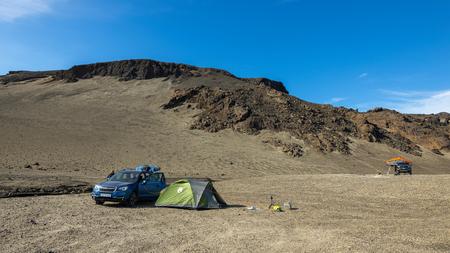 Askja, IJsland - Askja camping - foto door B-M-Brouwer op 28-11-2020