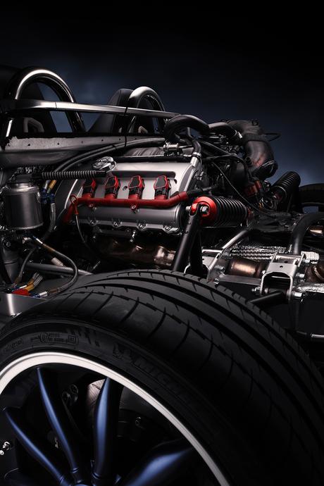C8 Spyder Engine