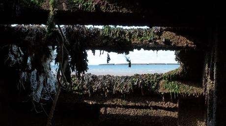 Gouden strand Arromanches Normandië 2