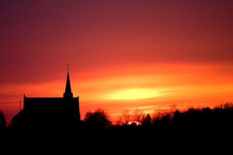 sunset Heerle