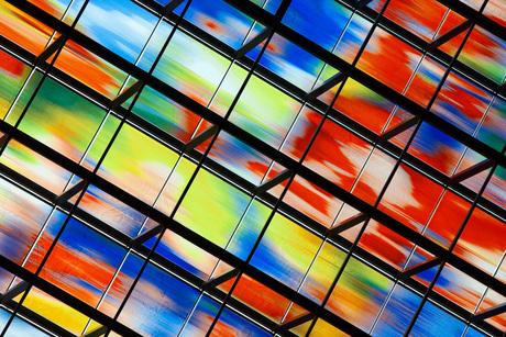 Close-up raam Nederlands Instituut Beeld en Geluid