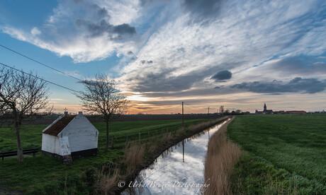 Stilte op de polder