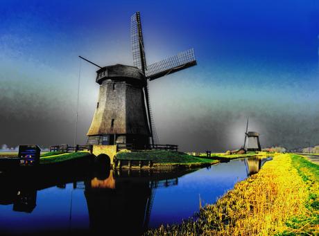 Molen in Noord-Holland