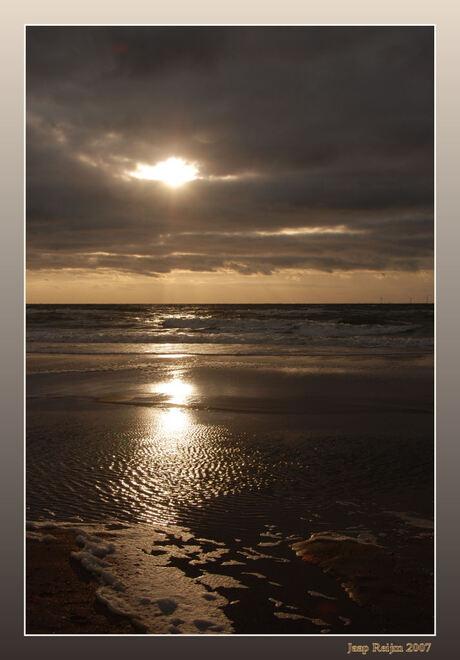 Strand bij Castricum