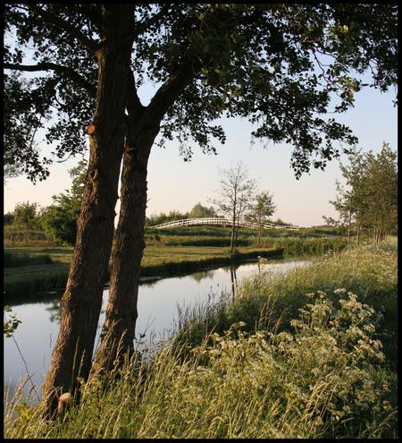 Just a bridge. - Deze foto is gemaakt bij de zijdebrug tussen Oud Alblas en NieuwLekkerland. Even om mijn nieuwe 7D uit te proberen. - foto door Anne_Timmermans op 28-05-2010 - deze foto bevat: landschap