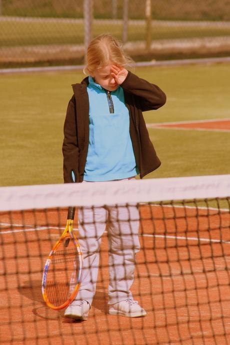 Tennis is best vermoeiend...