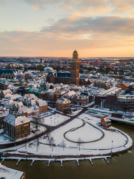 Zwolle in de Sneeuw!