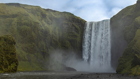 Skógafoss, IJsland