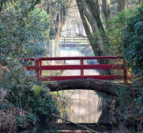 The Red Bridge.