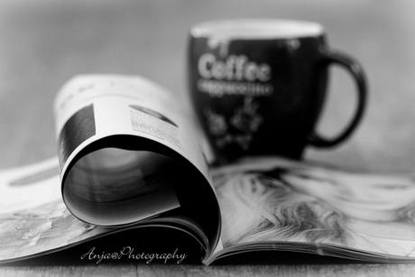 En toen was er koffie!! Met mijn favorite blad ZOOM!!