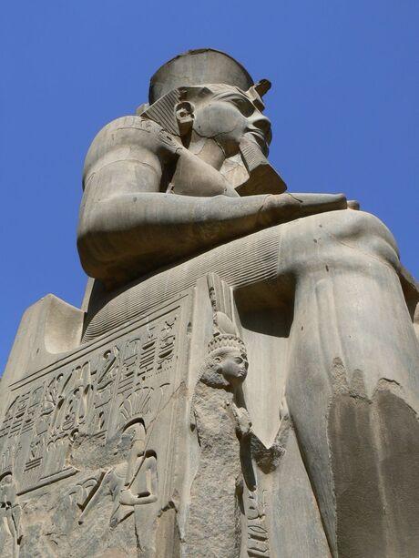 ramses beeld egypte