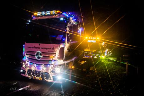 Verlichte Truckrit 2017