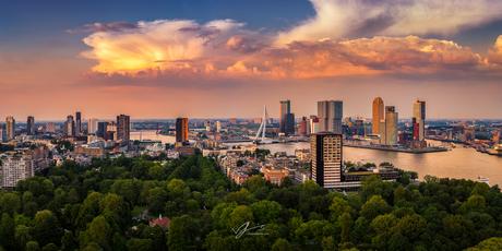 Panoramic Rotterdam