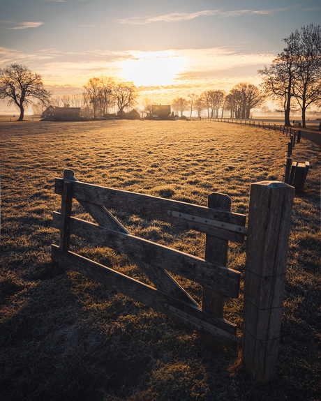 Sunrise broekland