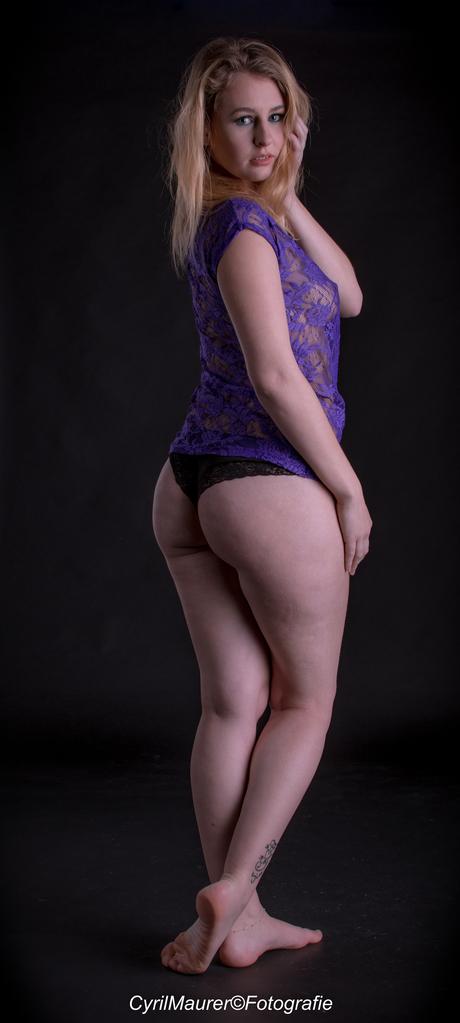 beauty in purple