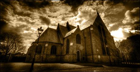 """""""Oude"""" foto van Kerk"""