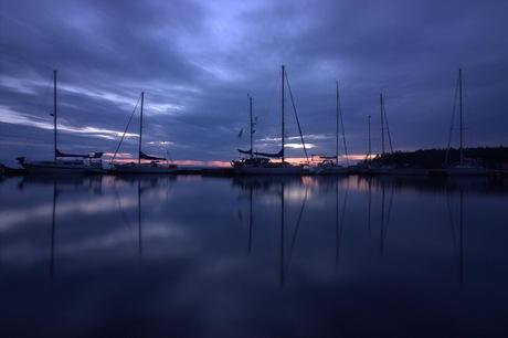 Stilte op het water