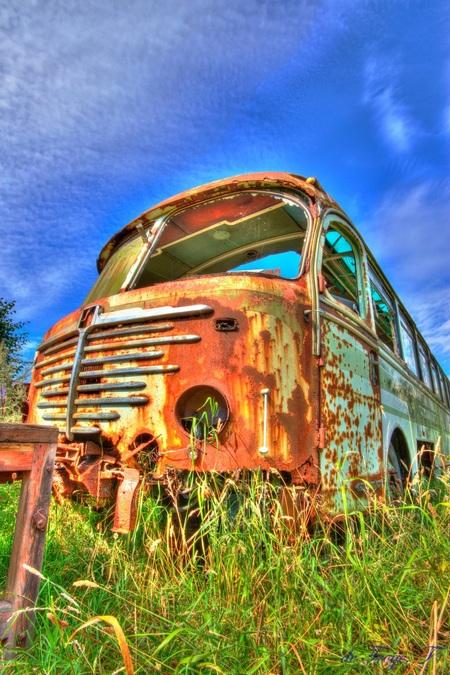 Nooit bij de laatste halte aangekomen. - 60's Bus - foto door fpt op 18-08-2013