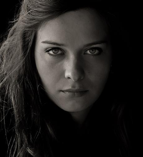Portret in ZW