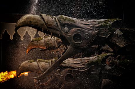 Vijf koppig monster