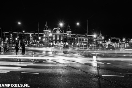 Amsterdam in the dark