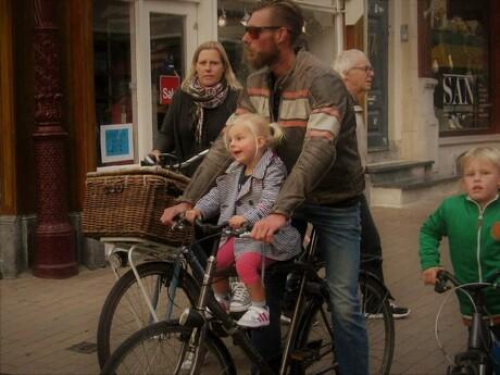 Straatleven in Groningen