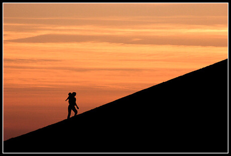 Op weg naar de top
