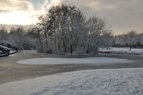 Winter in Nieuwegein