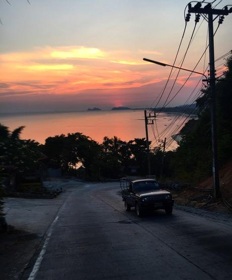 Sunset Koh pahnang - Thailand