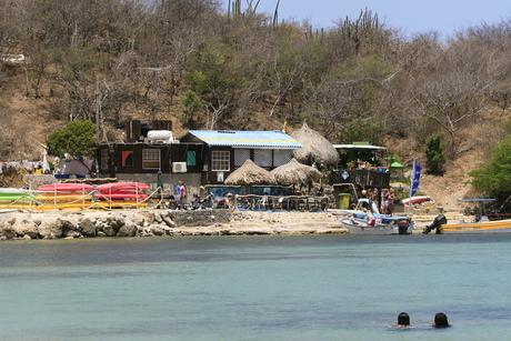 strandtent op Curacao