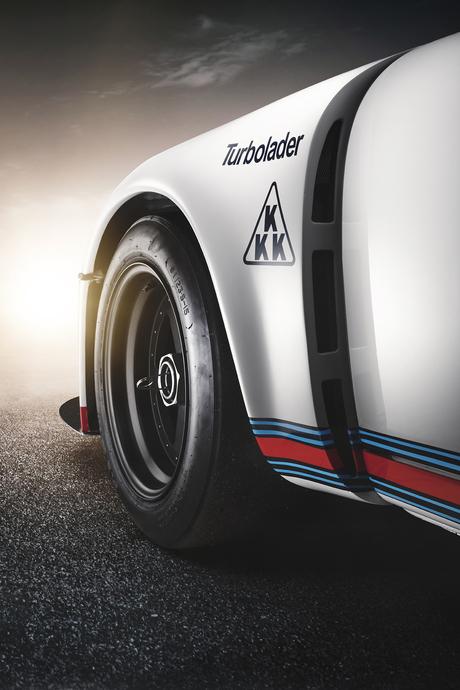 Porsche 911 935 Martini Racing uit 1974