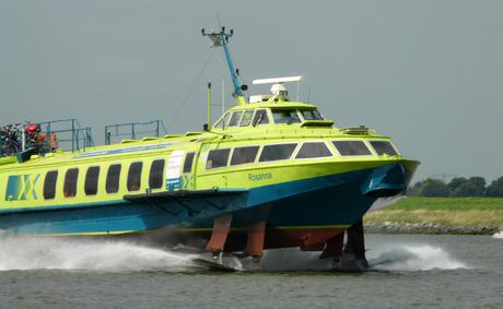 Herinnert u zich deze nog? De bus boot, oftewel de Ferry van Amsterdam naar IJmuiden