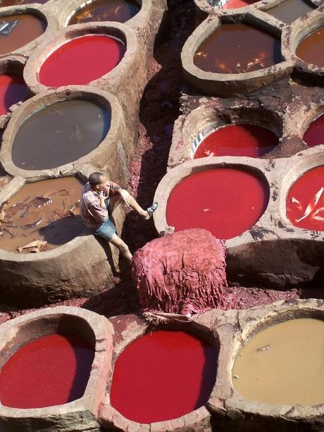 leerlooiers in Marokko