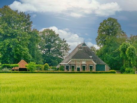 Fietstocht in Drenthe.