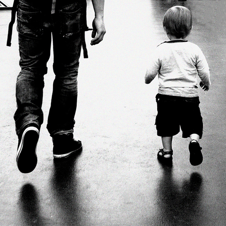 Zo vader, zo zoon...