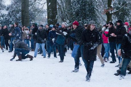 Biggest Baddest Snowball Battle 2013