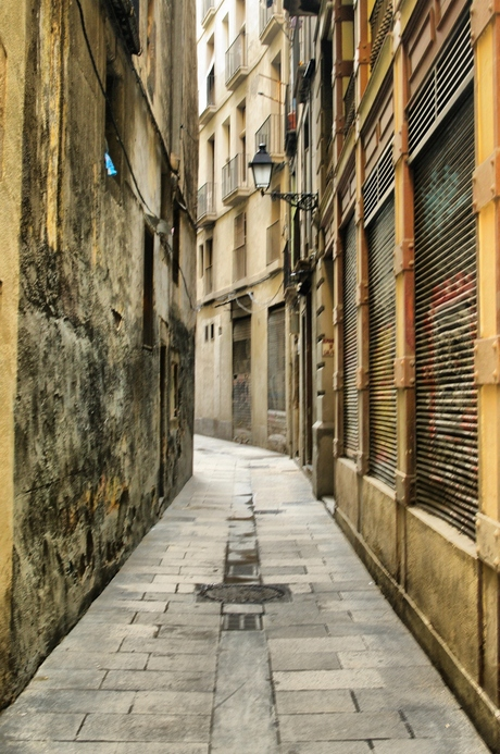 Street of Barcalona