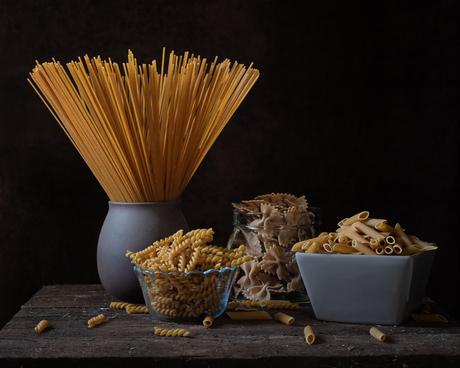 Stilleven pasta