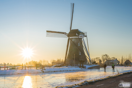 Hollandse wintertaferelen