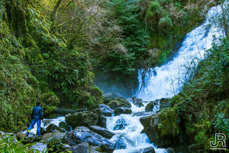 Torc Mountain Waterfall