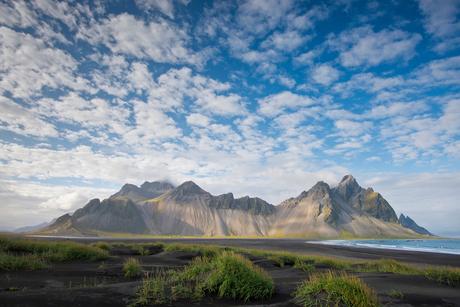 Vestrahorn gebergte, IJsland.